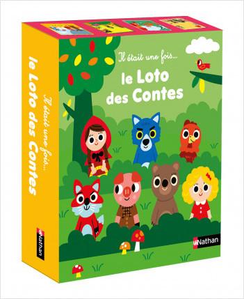 Il était une fois : Le loto des contes - Les histoires Rouge & Or - Dès 3 ans