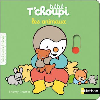 Bébé T'choupi - les animaux - livre animé - dès 6 mois