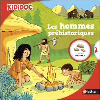 Les hommes préhistoriques - Livre animé Kididoc - Dès 5 ans