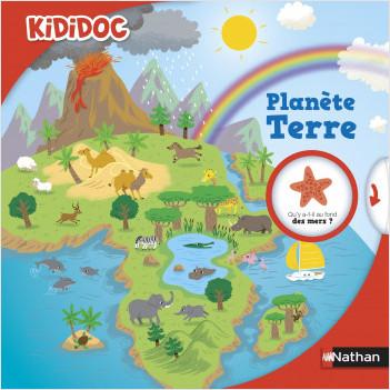 Planète Terre  - Livre animé Kididoc - dès 4 ans