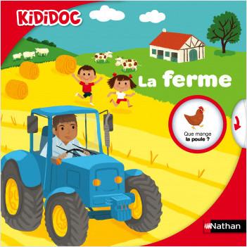 La ferme - Livre animé Kididoc - Dès 4 ans