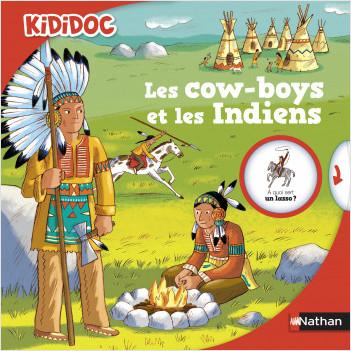 Les cow-boys et les Indiens - Livre animé Kididoc - Dès 5 ans