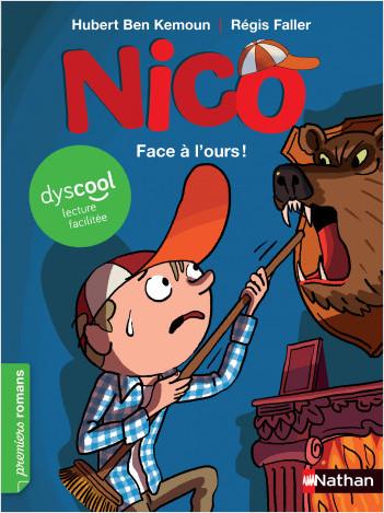 Nico : Face à l'ours ! - adapté aux enfants DYS ou dyslexiques - Dès 7 ans