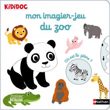 Mon imagier-jeu du zoo - Kididoc - dès 6 mois