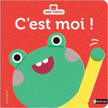 C'est moi ! Petite grenouille - Livre matières - dès 1 an