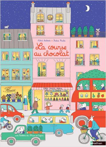 La course au chocolat - Max et lapin - Grand album dès 2 ans