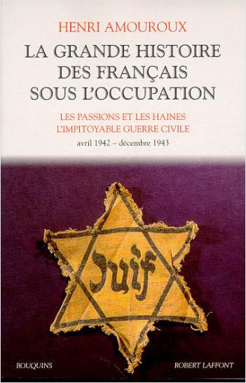 La Grande histoire des Français sous l'Occupation - Tome 3