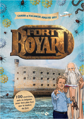 Cahier de vacances pour adultes Fort Boyard