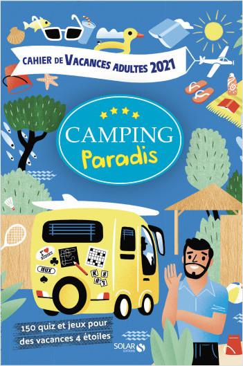 Cahier de vacances pour adultes Camping paradis