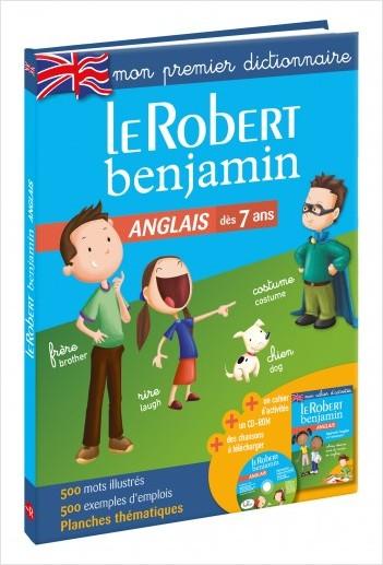 Le Robert Benjamin Anglais - Dès 7 ans - CP-CE