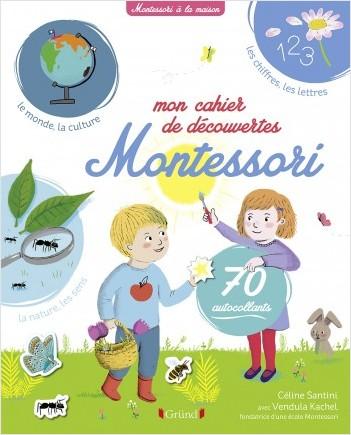 Mon cahier de découvertes Montessori