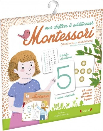Mes chiffres à additionner Montessori