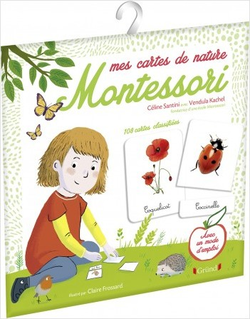 Mes cartes de nature Montessori