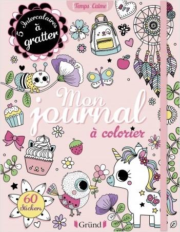 Mon journal à colorier