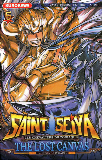 Saint Seiya - Les Chevaliers du Zodiaque  - The Lost Canvas - La Légende d'Hadès - tome 05