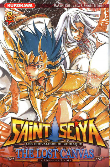 Saint Seiya - Les Chevaliers du Zodiaque  - The Lost Canvas - La Légende d'Hadès - tome 08