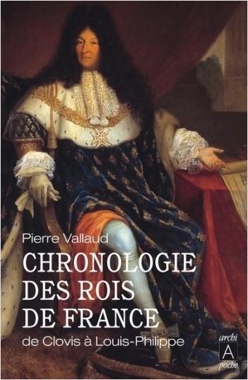 Chronologie des rois de France - De Clovis à Louis-Philippe