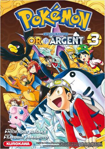 Pokémon - Or et Argent - tome 03