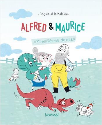 Alfred et Maurice - Lecture BD jeunesse humour dinosaure - Dès 7 ans