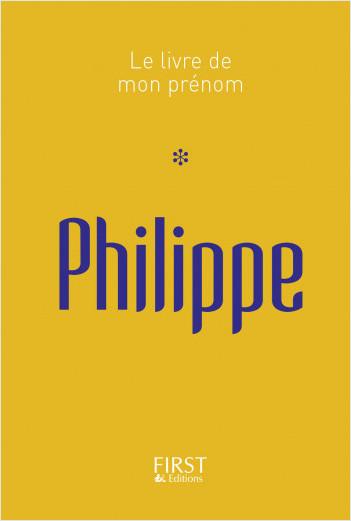Le Livre de mon prénom - Philippe