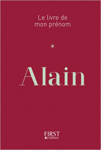 6 Le Livre de mon prénom - Alain