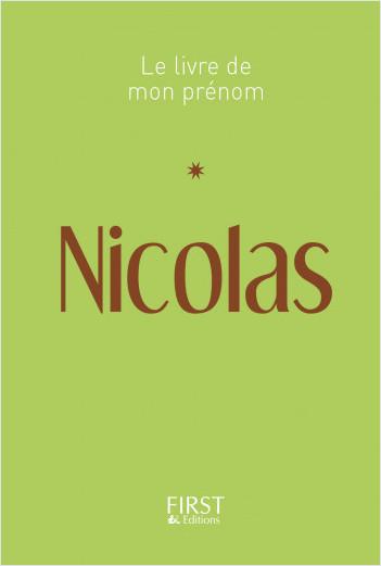 Le Livre de mon prénom - Nicolas