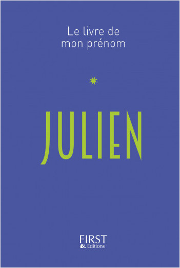 15 Le Livre de mon prénom - Julien