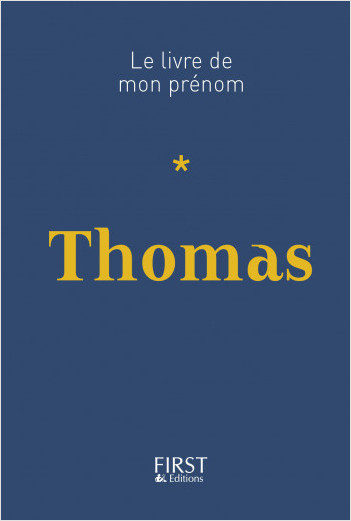 Le Livre de mon prénom - Thomas 16