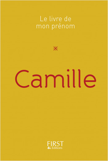 Le Livre de mon prénom - Camille