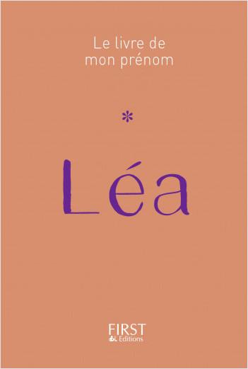 Le Livre de mon prénom - Léa