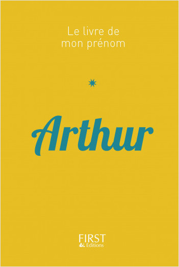 37 Le Livre de mon prénom - Arthur