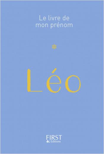 38 Le Livre de mon prénom - Léo