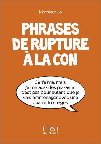 Petit Livre de - Phrases de rupture à la con