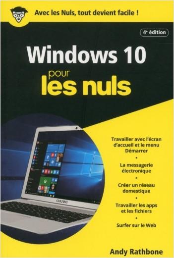 Windows 10, 4e Poche Pour les Nuls