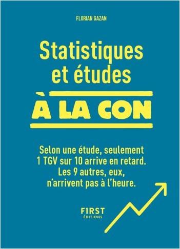 Statistiques et études à la con - Relié