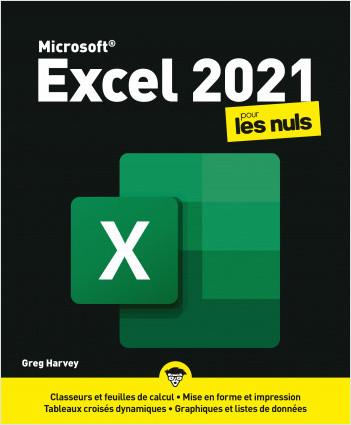 Excel 2021 pour les Nuls, grand format