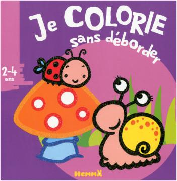 JE COLORIE SANS DEBORDER (2-4 ANS) (NATURE) T14