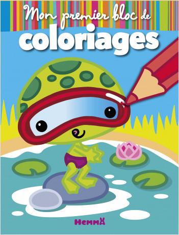 Mon premier bloc de coloriages (Animaux rigolos)
