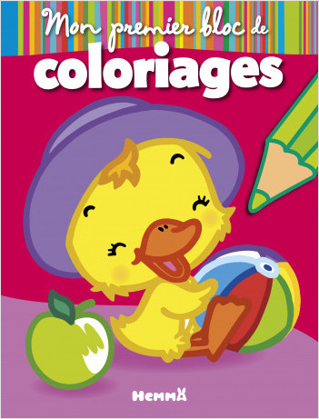 Mon premier bloc de coloriages (Vive les vacances)