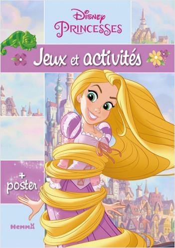 Disney Princesses - Jeux et Activités + un grand poster