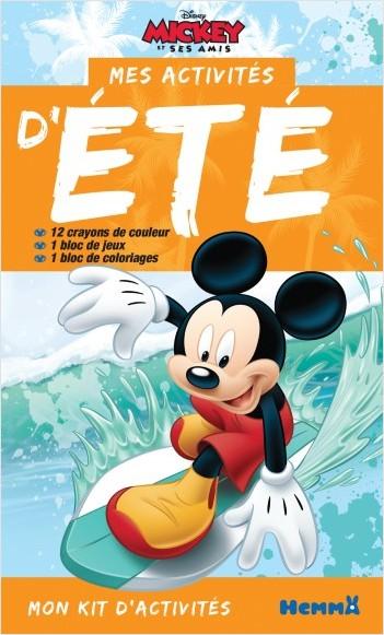 Disney Mickey - Mon kit d'activités - Mes activités d'Eté