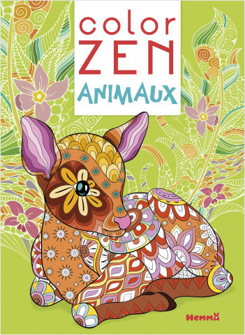 Color Zen - Animaux (Faon)
