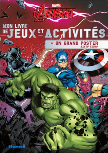 Marvel Avengers - Mon livre de Jeux et Activités + un grand poster