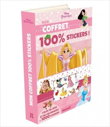 Disney Princesses - Mon coffret 100% stickers