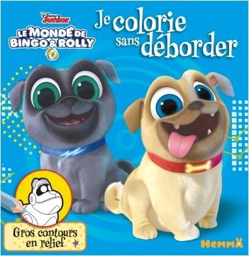 Disney Bingo et Rolly - Je colorie sans déborder