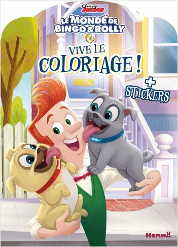 Disney Bingo et Rolly - Vive le coloriage !