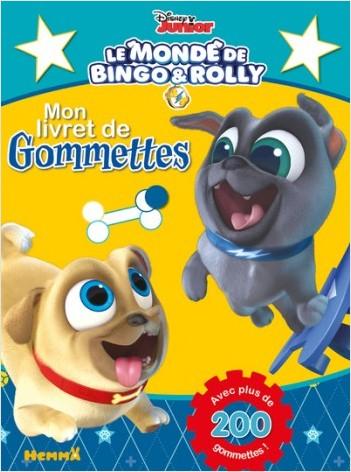Disney Bingo et Rolly - Mon livret de gommettes