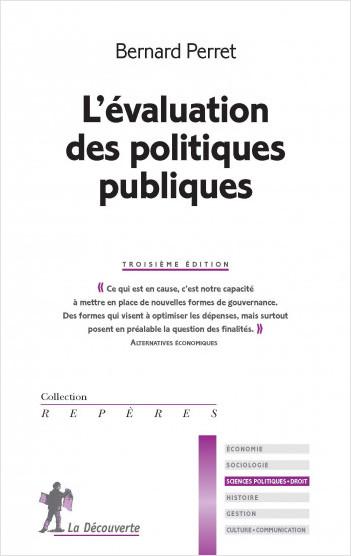 L'évaluation des politique publiques