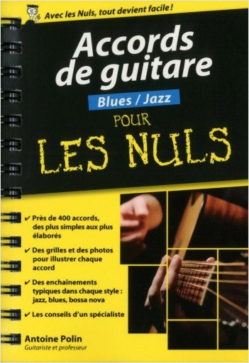 Accords de guitare Blues-Jazz pour les Nuls poche