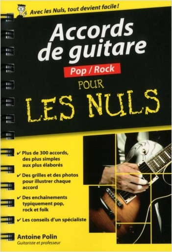 Accords de guitare Pop-Rock pour les Nuls poche